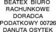 LOGO - Beatex Biuro Rachunkowe Danuta Osytek