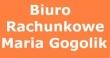 LOGO - BIURO RACHUNKOWE MARIA GOGOLIK